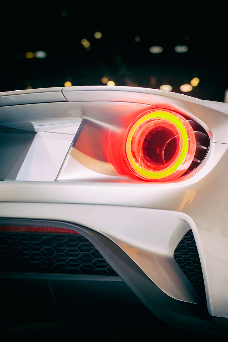 2017 Ford GT Supercar Tail Light car photo from Burbbble