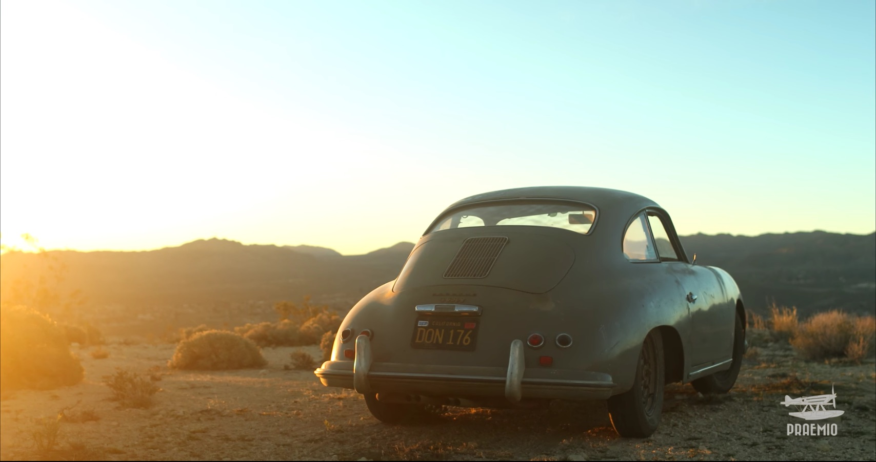 Porsche 356 Off Road in California