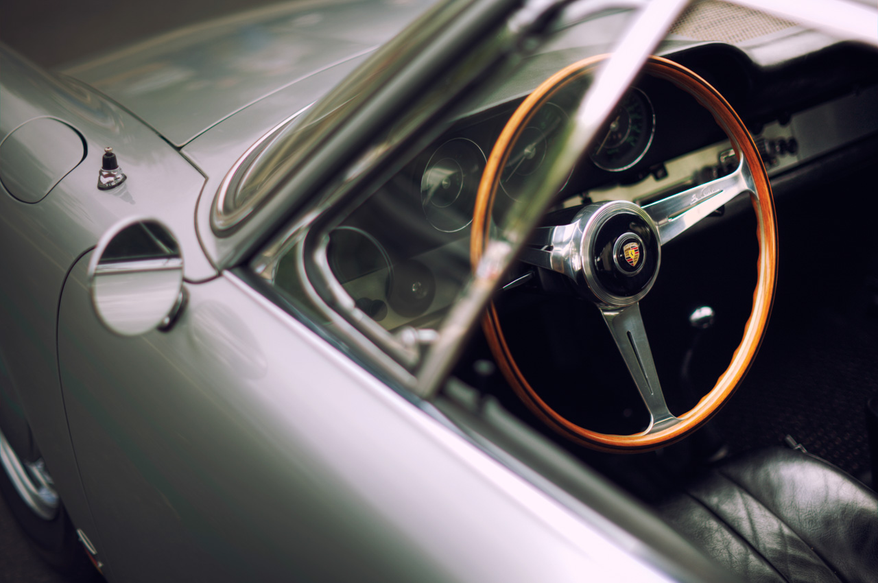 Classic Porsche 911 Steering Wheel car photo from Burbbble