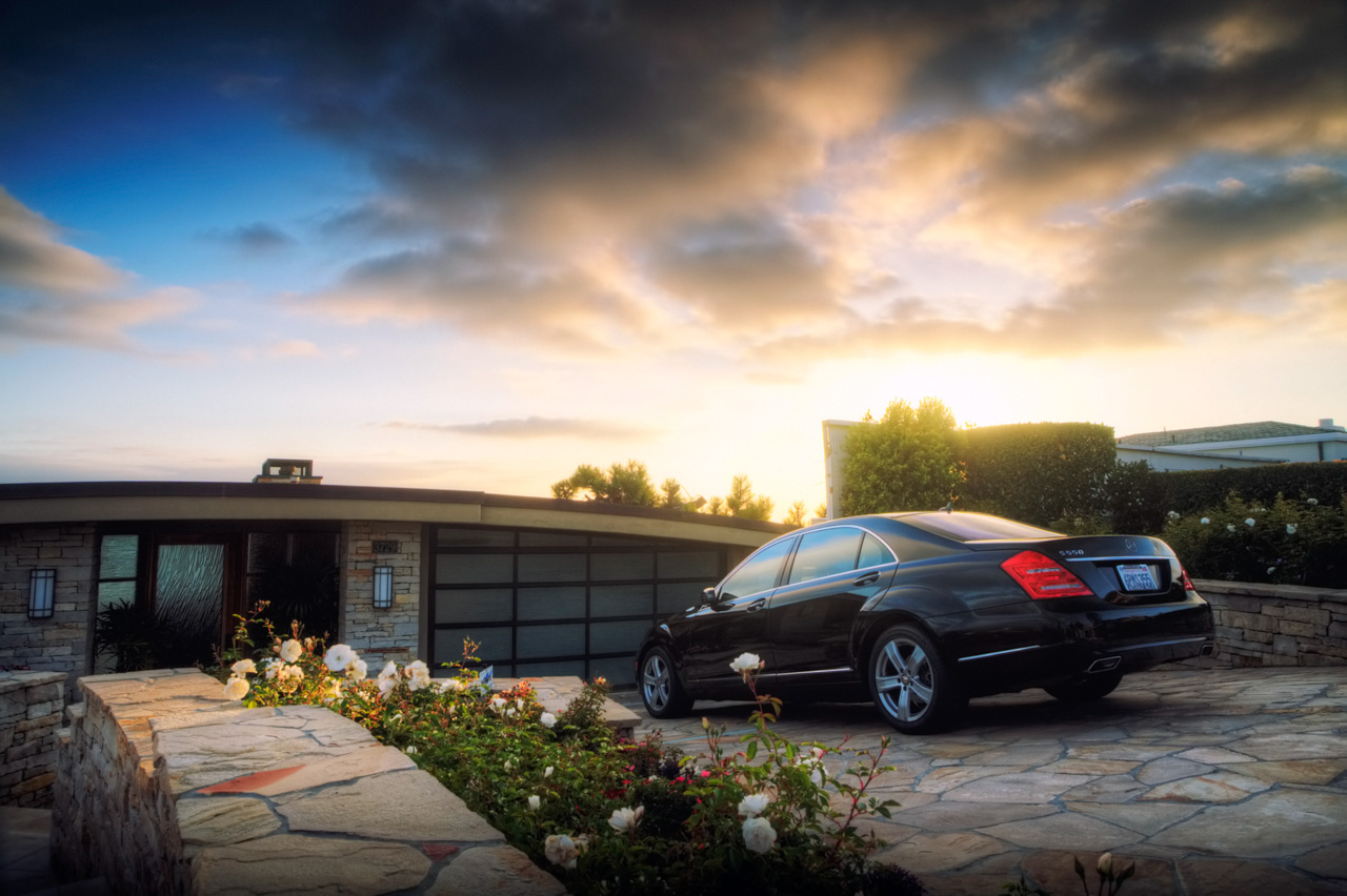 Dream Driveway Mercedes S550 car photo from Burbbble