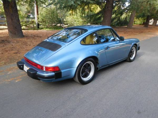 burbbble cars 1986 porsche 911 for sale